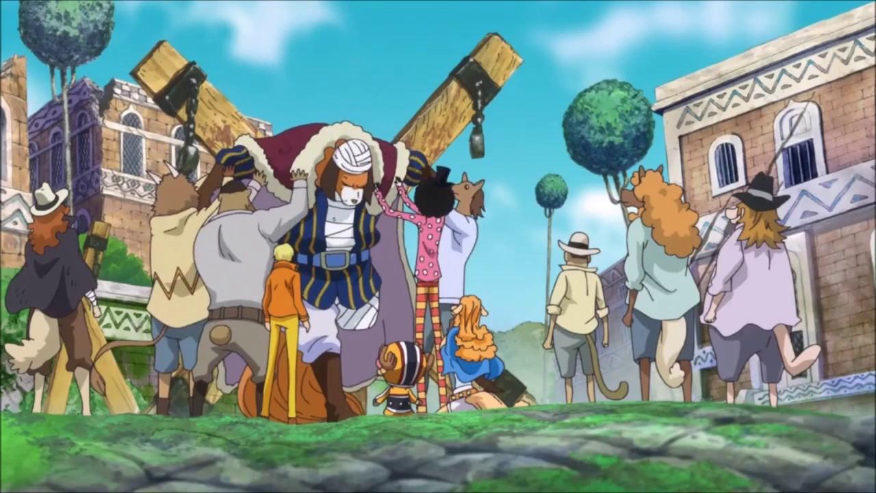 Sanji Help the Minks One Piece 761 ENG SUB - YouTube