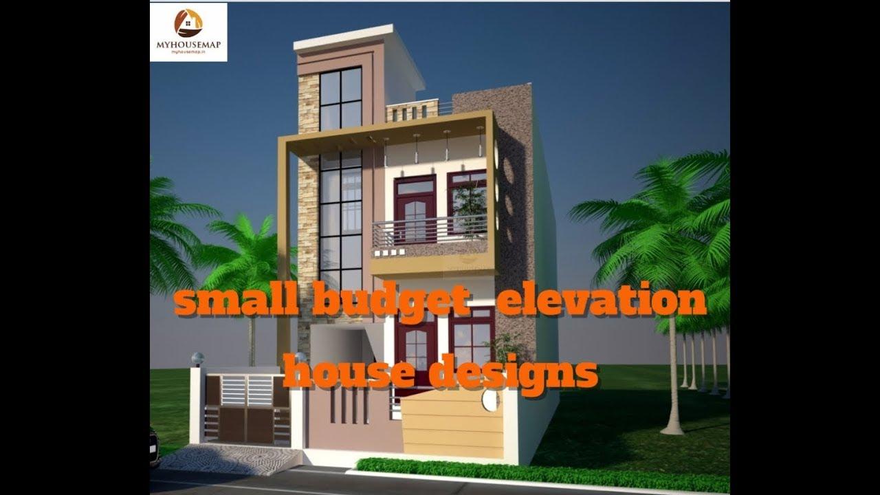 Front Elevation Design Maker : Small budget elevation house designs for plans top