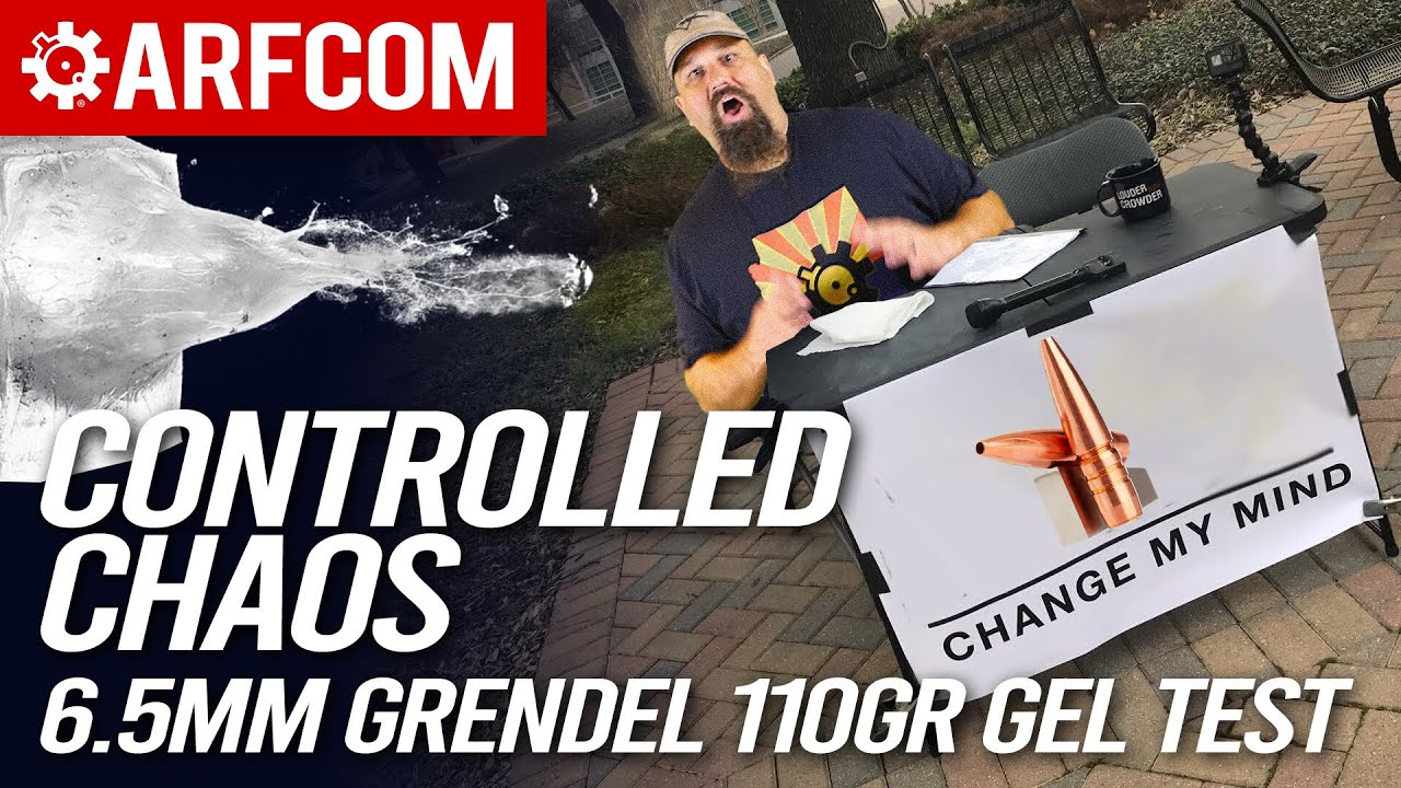 Can Controlled Chaos Change My Mind On Lehigh? 6.5mm Grendel Lehigh 110gr Controlled Chaos Gel Test