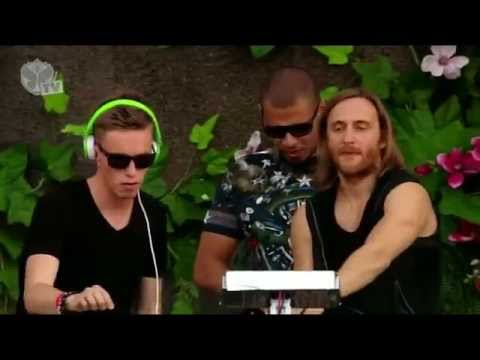 Afrojack x David Guetta x Nicky Romero - LIVE at Tomorrowland (28.07.2013)