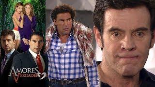 Amores Verdaderos: Nelson arruina la noche de Arriaga y Cristina | Escena - C23 | Tlnovelas