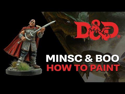 D&D Minsc & Boo Painting Tutorial