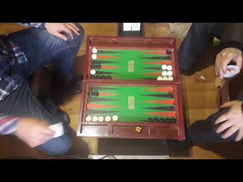 Вадим - Бордей (Короткие нарды / Backgammon 11 Pts) - Мощная партия с кубом на 16