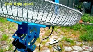 Tutorial Cara bikin Antena TV satelit dari Tutup Kipas angin Bekas
