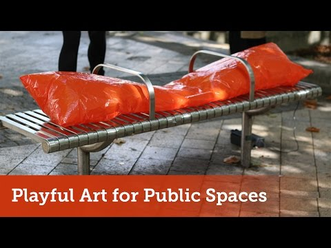 PLAYFUL ART FOR PUBLIC SPACES  | New Talent Residency 2016 | Watershed
