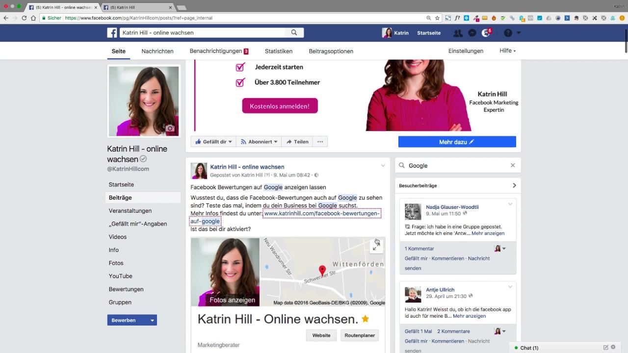 Facebook durchsuchen - Profil- und Seitenbeiträge finden