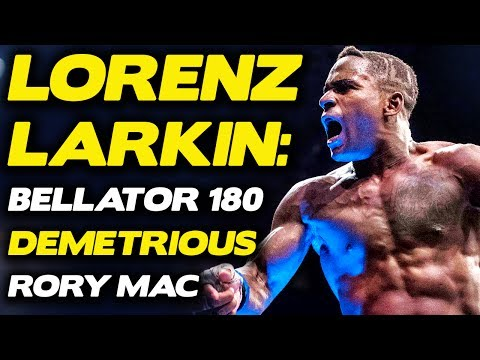 Lorenz Larkin Blasts Rory MacDonald After 'Corny' Trashtalk Attempt | Bellator 180