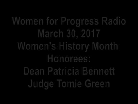 WFP Radio March 30 2017 - Women's History Month Honorees