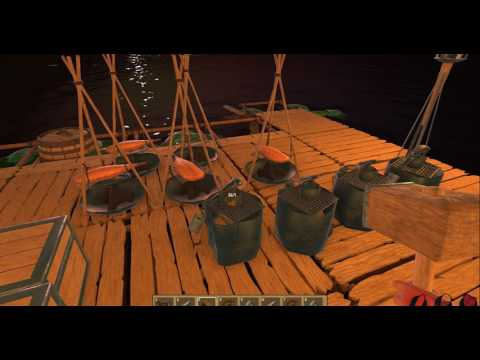 Видео Все крафты в игре Raft