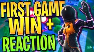 NEW FORTNITE DARK VANGUARD SKIN REACTION + WIN - FORTNITE: BATTLE ROYALE! | TBNRKENWORTH