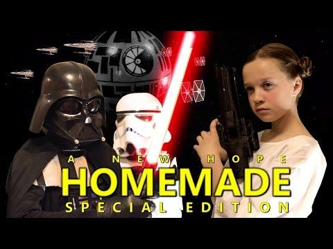 Star Wars: A New Hope - Homemade Remake (Full Movie)