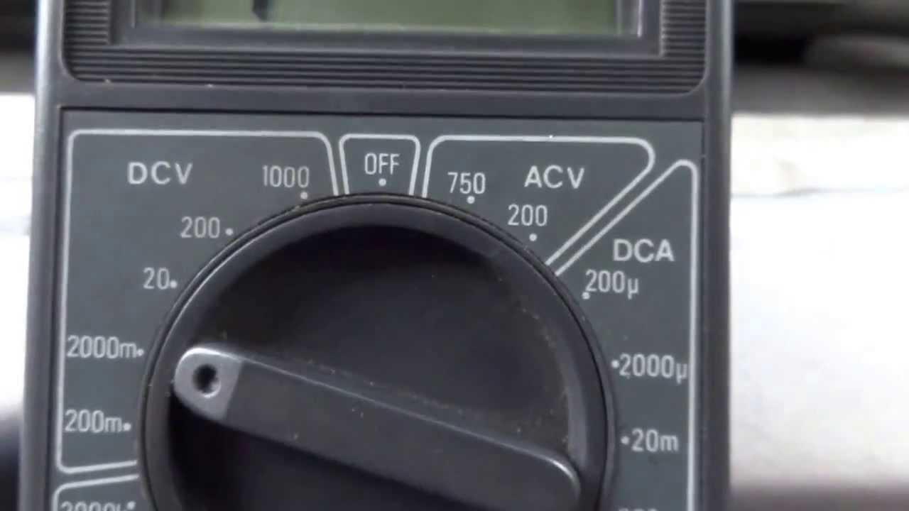 multimetro otc 100 automotive meter manual
