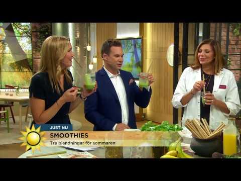 Så fixar du en smoothien med superkrafter - Nyhetsmorgon (TV4)