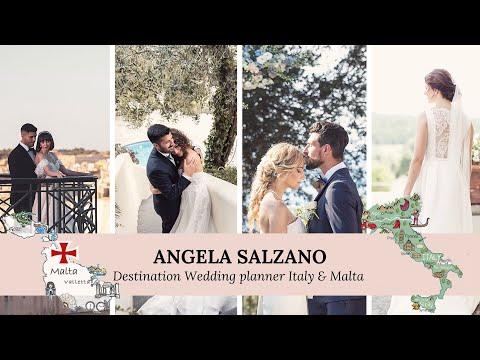 Angela Salzano Destination Wedding Planner - Italy & Malta-