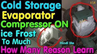 Gambar cover Cold storage Freezer indoor outdoor compressor on ice freezing to much how many reason learn repair