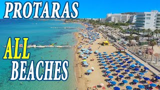 All Protaras beaches 2020 Cyprus Lockdown lifted