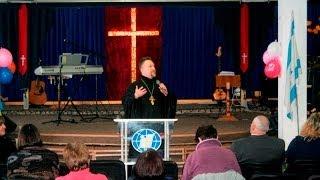 Архиепископ Сергей Журавлев РПЦХС, проповедь в церкви Филадельфия 2013.10.20