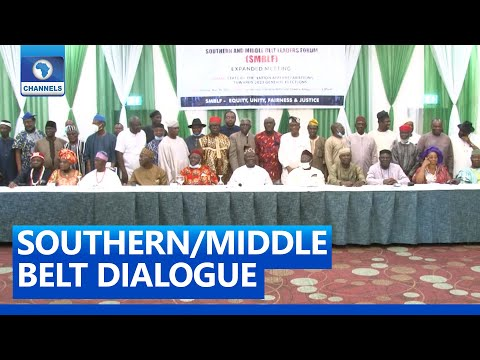 FULL VIDEO: Southern/Middle Belt Leaders Insist Constitutional Amendment Exercise Is Fraudulent