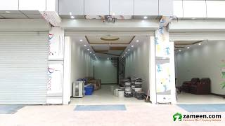 450 Sq. Ft. DOUBLE UNIT SHOP FOR RENT IN BLOCK B COMMERCIAL MARKET SATELLITE TOWN RAWALPINDI