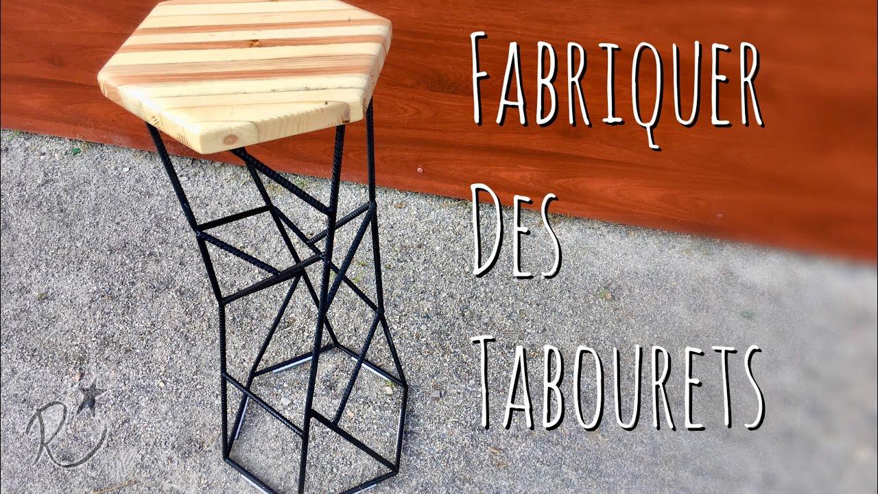 Faire Des Tabourets De Bar fabriquer des tabourets de bar. ( diy bar stool )