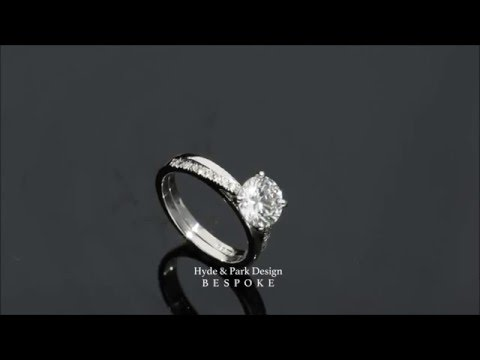 STUNNING Custom Made Diamond Engagement Ring