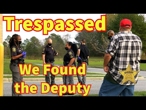 Lack of Knowledge of Deputies Lead To A Illegal Trespass Detention Center 1st Amendment Audit