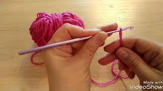Видеоурок 'Вязание крючком для начинающих'