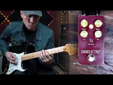 Danelectro THE EISENHOWER FUZZ pedal - demo by RJ Ronquillo