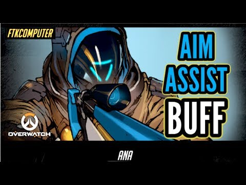 Reacting to & Trying Out the New Ana BUFF! (Overwatch Ranked)