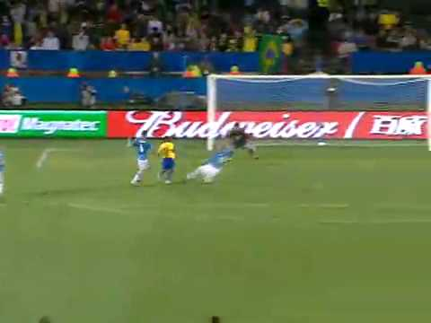 2º Goal do Brasil! Luis Fabiano [ Brazil x  Italy  ] Confederations Cup South Africa 2009 FIFA