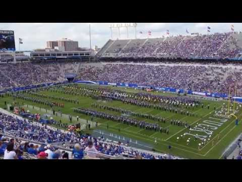 2014 University of Kentucky Wildcat Marching Band High School Band Day UK WMB
