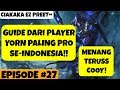 Mobile Arena Guide YORN dari player PRO FULL BUILD Episode 27