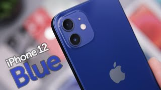 Blue iPhone 12 Unboxing & First Impressions!