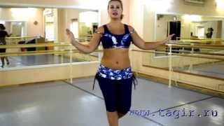 Он-лайн уроки танца живота: Baladi (часть 3 с комментариями)