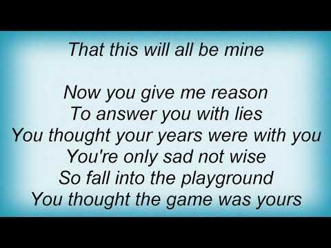 Texas - This Will All Be Mine Lyrics