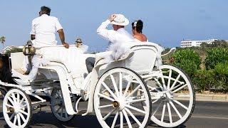 Свадьба на Кипре - One wedding in Cyprus(Отдыхая на острове любви и рождения богини Афродиты, мы не раз становились свидетелями самых разных свадеб..., 2013-07-06T01:05:07.000Z)