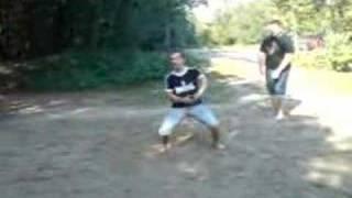 Bro,Sven & me jumpen