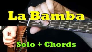 LA BAMBA: Easy Guitar Lesson + TAB + CHORDS by GuitarNick