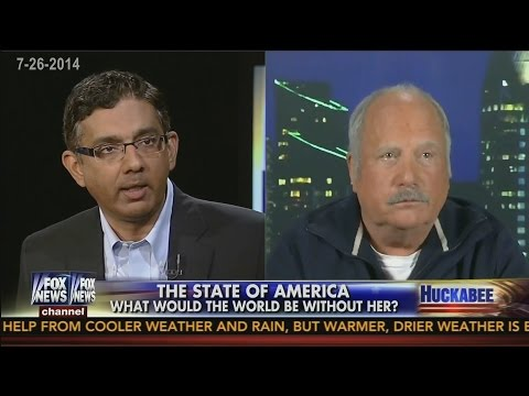 Dinesh D'Souza vs. Richard Dreyfuss Debate 'The State of America' on Huckabee