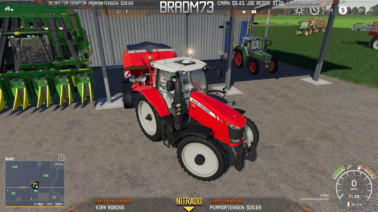 Farming Simulator 19 - MIDWEST HORIZONS Multiplayer Server
