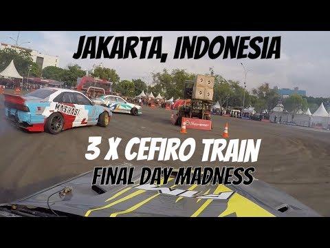 Gymkhana CHAMPION??? Jakarta Drift event (Day 2 of 2)
