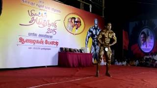 Munusamy musical in Mr.Tamil Nadu 2015
