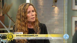 """Ny rapport visar: """"Tobaksindustrin anlitar influencers"""" - Nyhetsmorgon (TV4)"""
