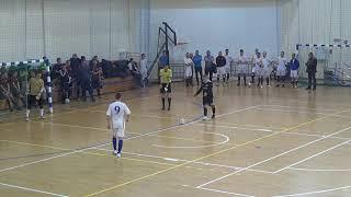 30 11 19 Мини футбол Суперлига КО Дорспецстрой СанТермо 3 2 Обзор матча