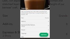 Starbucks App Tutorial