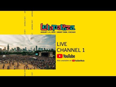 Lollapalooza 2019 LIVE Channel 1