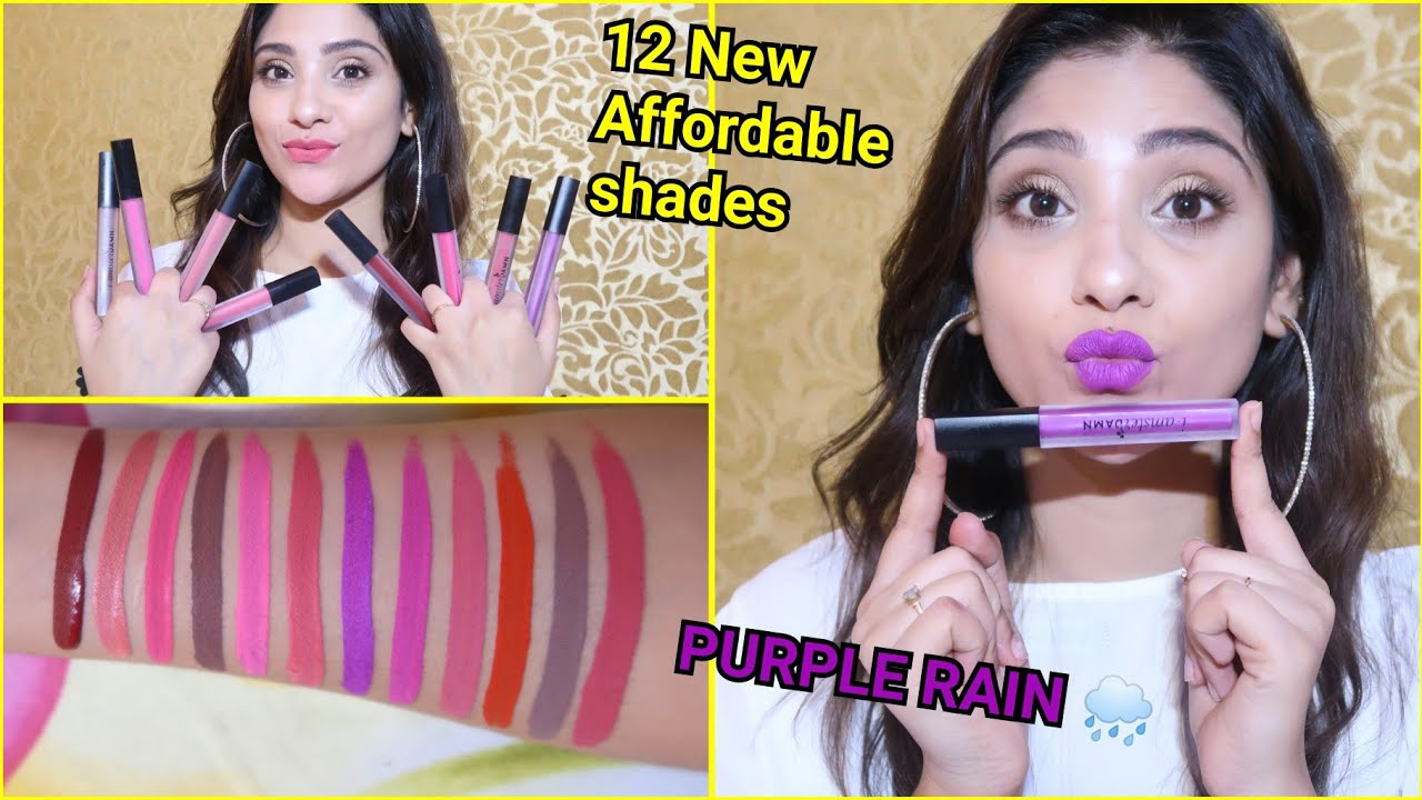 Amster Video new i amster damn 12 shades || affordable liquid must have