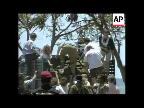 EAST TIMOR: DILI: FOOTAGE OF DESTRUCTION IN CAPITAL