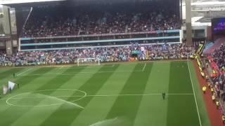Hi Ho Aston Villa before the Blues game