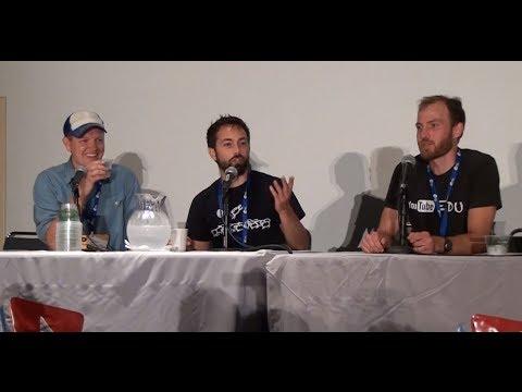 Physics Q&A VidCon 2014 Destin Derek & Henry